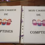cahier de comptines
