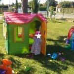 une nouvelle cabane dans le jardin